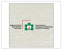 Sudbury and districts home builders logo image